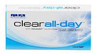 Ежемесячные контактные линзы Clear all day, 6 шт., Clearlab International