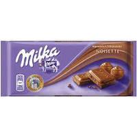 Молочный шоколад Milka Noisette 0.100 гр
