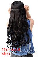 Волосы на ленте на заколках тресс затылочный №2