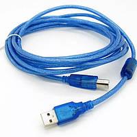 Соединительный кабель для принтера Ocean USB - USB B 3м!
