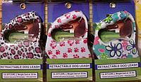 Поводок-Рулетка - поводок для собак RETRACTABLE DOG LEASH. 5м, фото 1