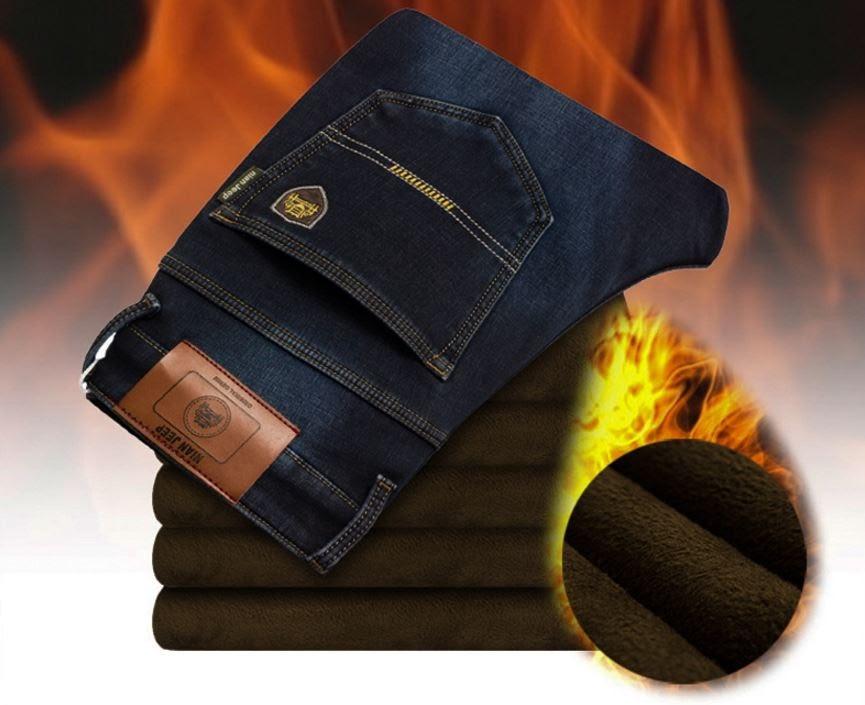 Зимние утепленные мужские джинсы JEEP. Отличное качество. Доступная цена.  Дешево 577a25b6724ec