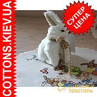 Пасхальный пушистый декоративный заяц