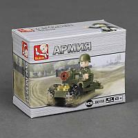 """SLUBAN M 38 B 0118 """"Армия"""" (256) 24 дет, в коробке, 9*4*7см"""
