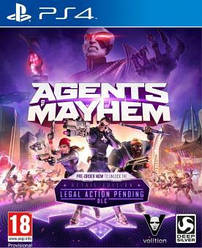 Agents of Mayhem (PS4, русские субтитры)   НОВИНКА !!!