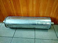 Глушитель алюминизированный Газель (выход по центру), фото 1