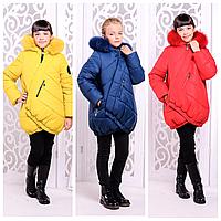 Детская куртка на зиму | Стильный зимний пуховик