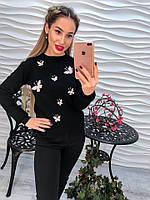 """Очень красивый женский свитер """"Бабочка"""", фото 1"""