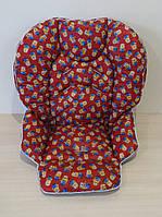 Чехол на стульчик Chicco Polly 2 в 1 миньоны