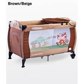 Детская кровать-манеж Caretero Medio Classic