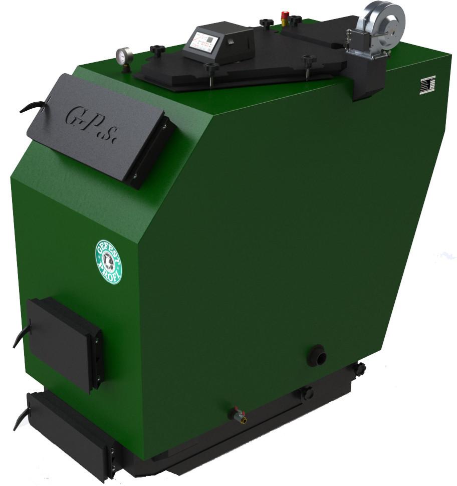 Твердотопливный котел длительного горения Gefest Profi S 80 кВт (Гефест профи С)