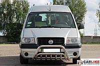 Кенгурятник Fiat Scudo 1996-2007 (WT002 нерж)