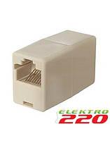 Адаптер проходной UTP COLARIX LAN-CON-001