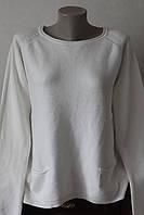 Женская кофта рубчик карман
