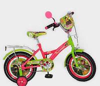 Детский велосипед Mustang Маша и Медведь (18 дюймов