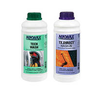 Набор Nikwax Tech Wash 1L + Tx.Direct 1L