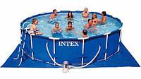 Каркасный бассейн Intex 56438 (457х122 см.)+аксессуары