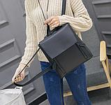Рюкзак женский городской черный Ember, фото 5