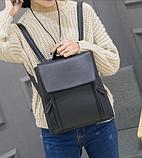 Рюкзак женский городской черный Ember, фото 6