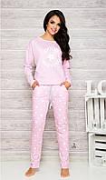 Модная хлопковая пижама Nadia 1190 Taro XL, розовый
