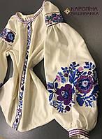 Пошита жіноча сорочка під вишивку ( Молочна бохо) 67d2f447c62ef