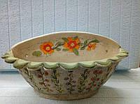 Кашпо керамическое для цветов на стену ручная работа и роспись