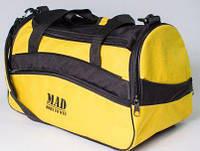 Удобная спортивная сумка 25 л MAD TWIST STW20 Желтый