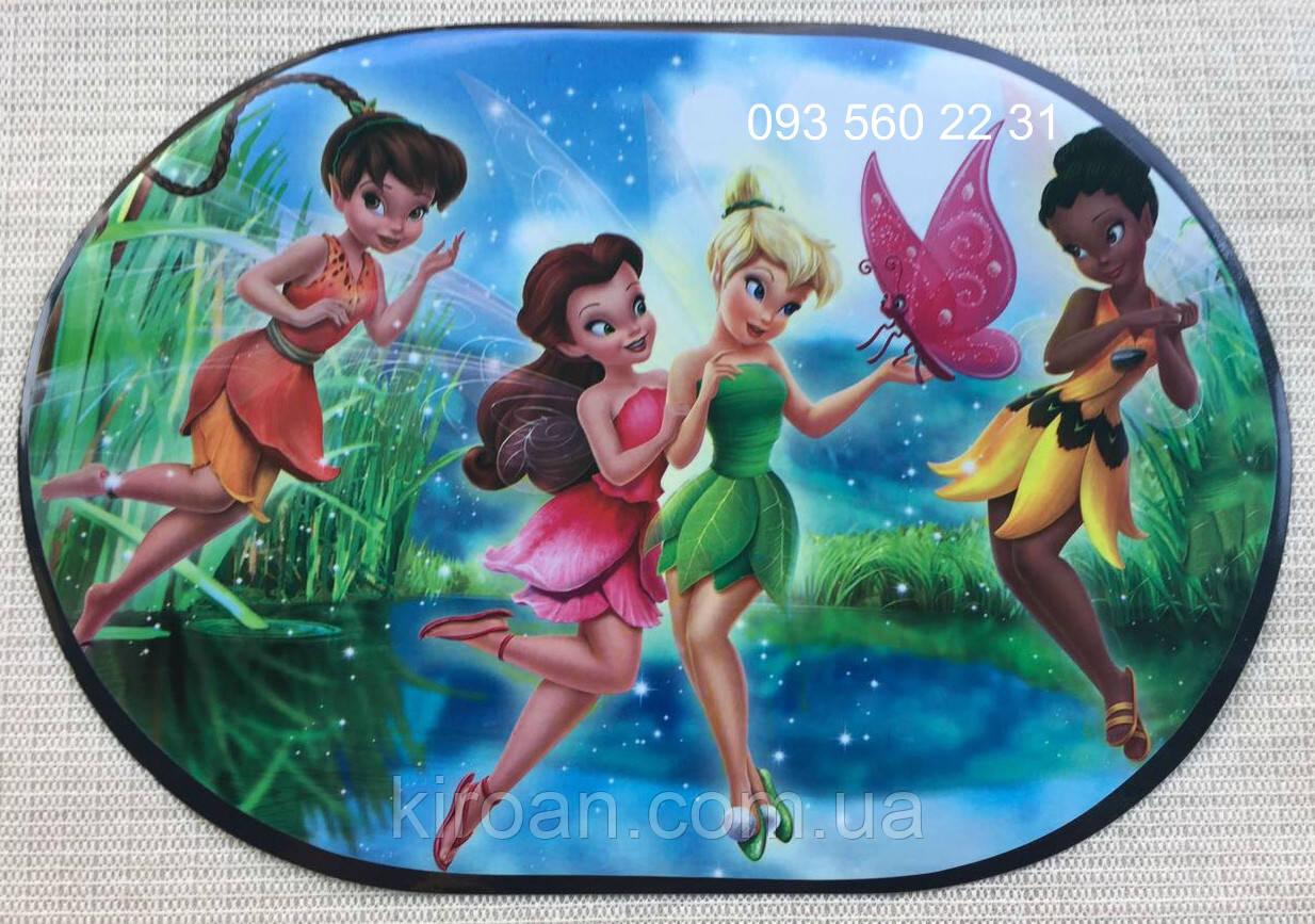 Детская салфетка-подложка на стол под тарелки и для детского творчества (Феи) 06024