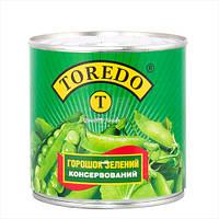 """Зеленый горошек в ж/б 420 грм """"ТМ Торедо"""""""