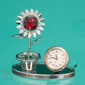 """Часы """"Цветок"""""""
