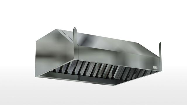 Зонты вытяжные из нержавеющей стали