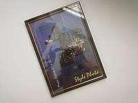 Рамка для фото 21х30 (планка, темная) для награждения