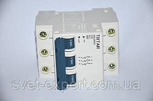 Автоматичний вимикач  3Р 40А (6кА) Титан, фото 2