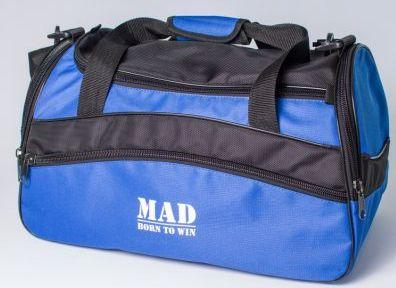 691a17b73030 Удобная спортивная сумка 25 л MAD TWIST STW50 Синий - SUPERSUMKA интернет  магазин в Киеве
