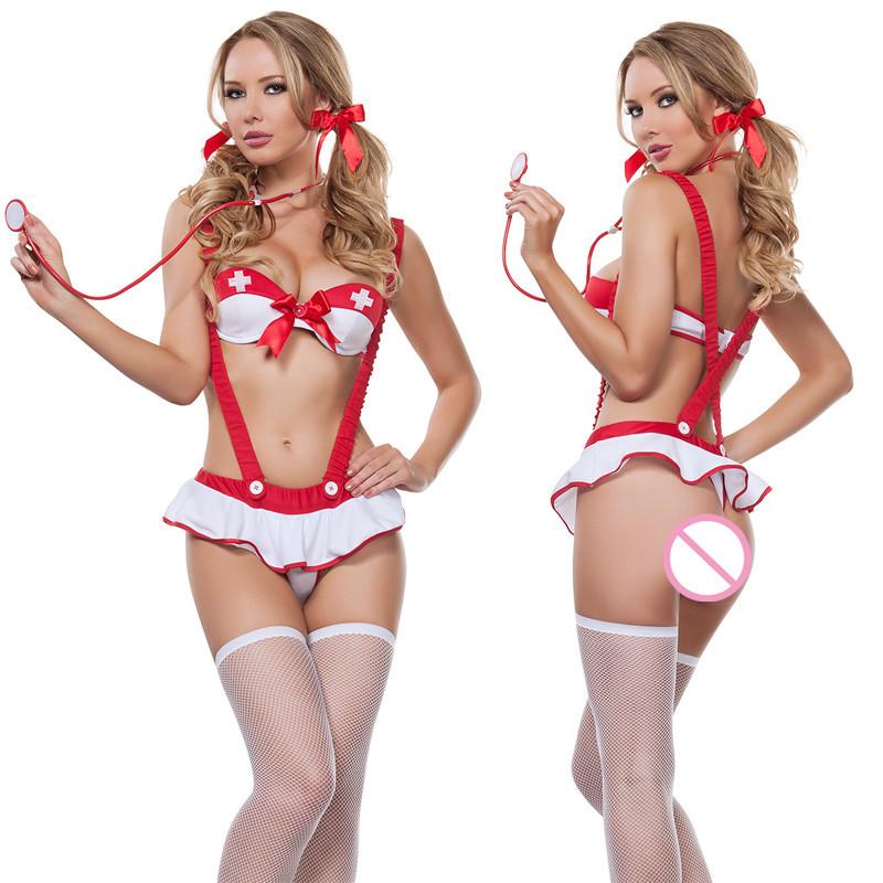 РАСПРОДАЖА Ролевой эротический костюм медсестрички