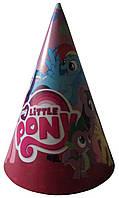 """Колпак праздничный """"My little pony"""" 16 см."""