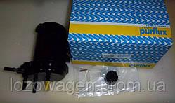 Топливный фильтр (с отверствием под датчик воды+заглушка) Renault Kangoo 2001->2008 1.5dCi PURFLUX FCS748