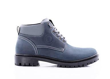 Мужские синие зимние ботинки Bastion - Overslush, Navy