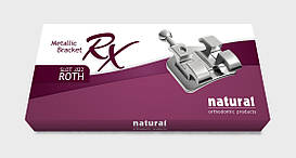Металлические брекеты Natural RX, Roth 022