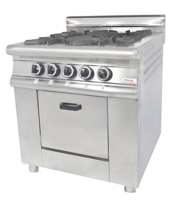 Плита 4-х конфорочная с духовым шкафом и газовым контроллером конф. 40