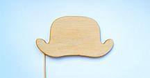 """Фотобутафория из дерева  """"Шляпа"""""""