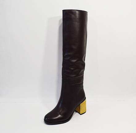 Женские кожаные сапоги Veritas, фото 2
