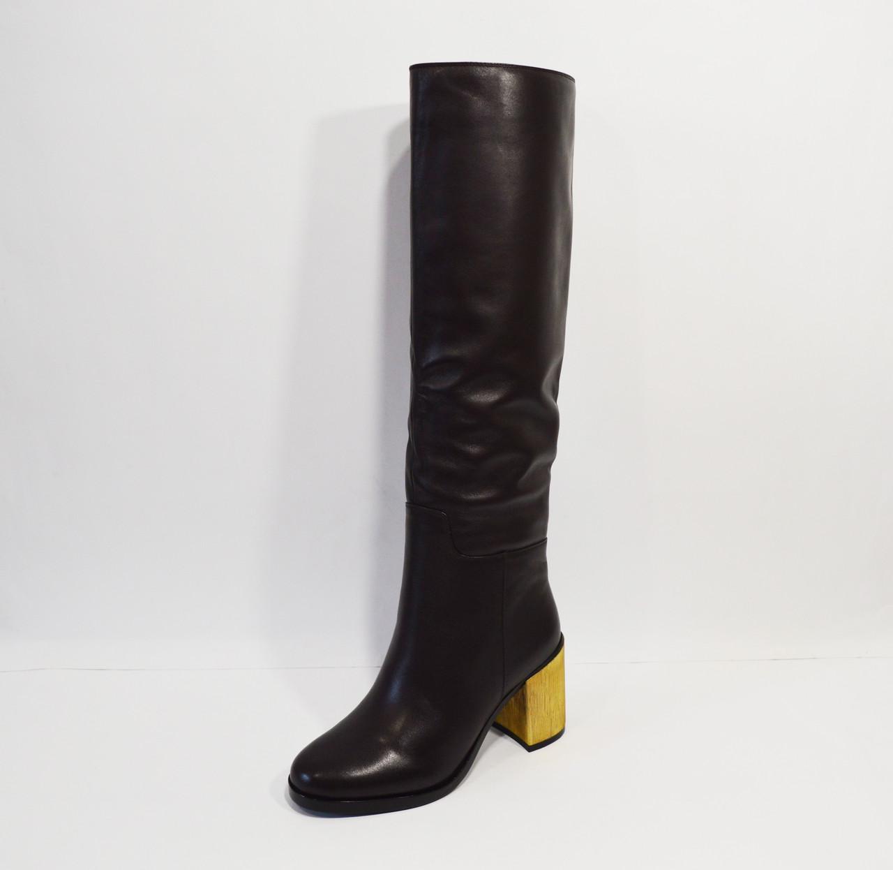 Женские кожаные сапоги Veritas
