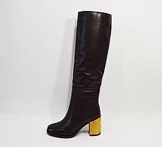 Женские кожаные сапоги Veritas, фото 3