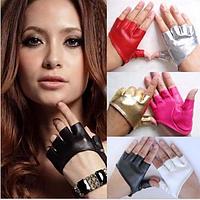Кожаные коротенький перчатки