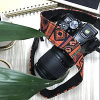 Наплечный ремень камеры, нашейный ремень для камеры с разными узорами