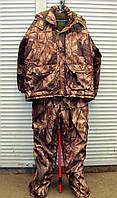 Зимний костюм для охоты, рыбалки  ANT Бурый лес размер 60-62 (XXL), фото 1