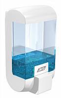 Наливной дозатор для жидкого мыла Rubis, с окошком для контроля за уровнем мыла