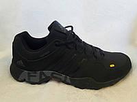 Мужские кроссовки Adidas Terrex fast Gore-tex черный нубук