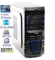 Игровой компьютер i7/12GB-DDR3/GTX1050ti/SSD/WIFI